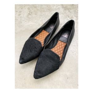 Dolce Vita Lexi calf hair pebbles leather loafers